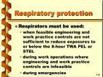 respiratory protection64