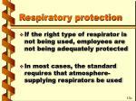 respiratory protection65