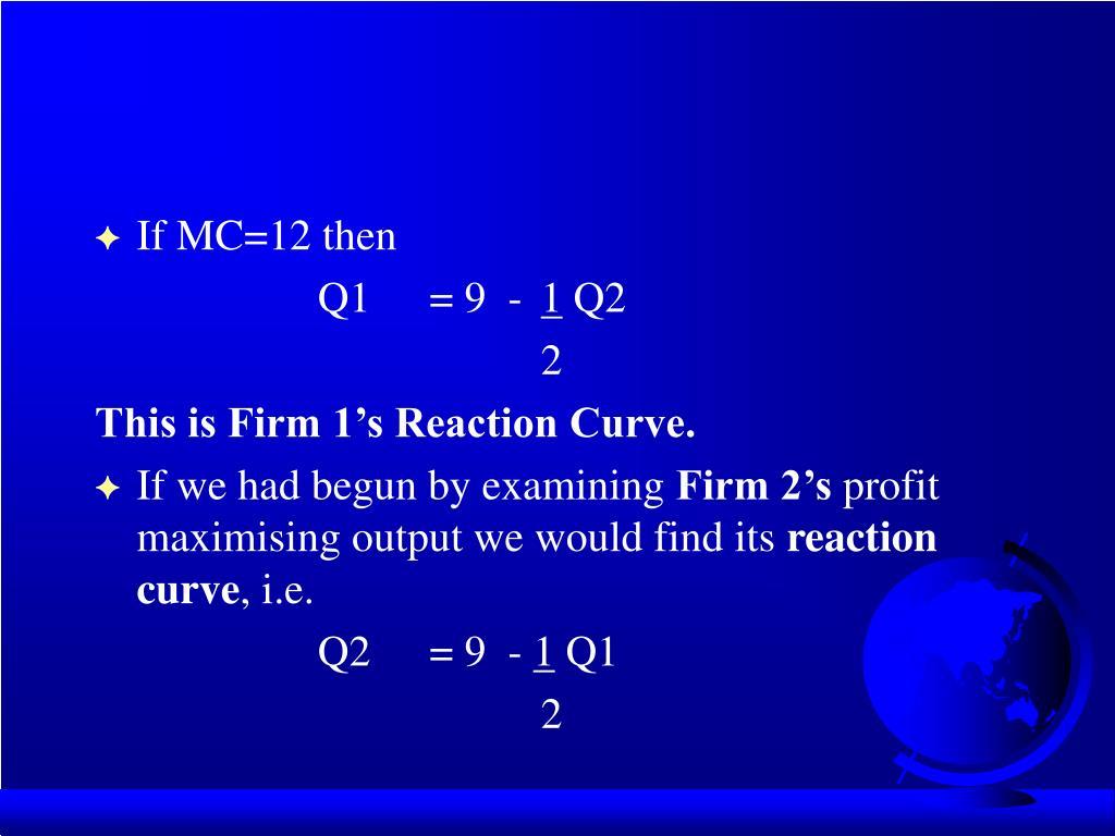 If MC=12 then