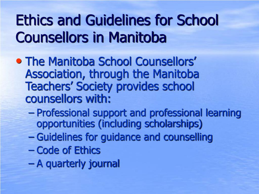 code of ethics guidelines