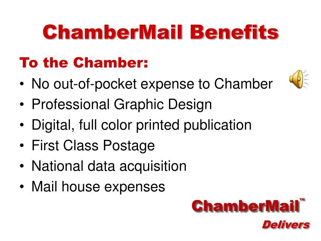 ChamberMail Benefits