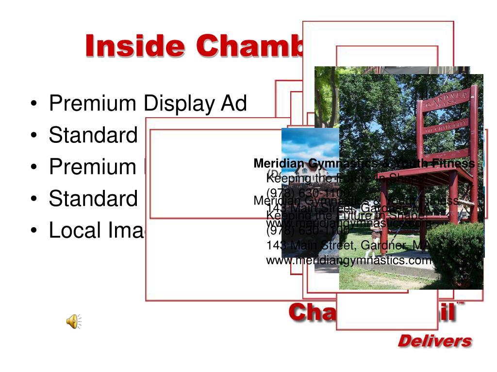 Inside ChamberMail