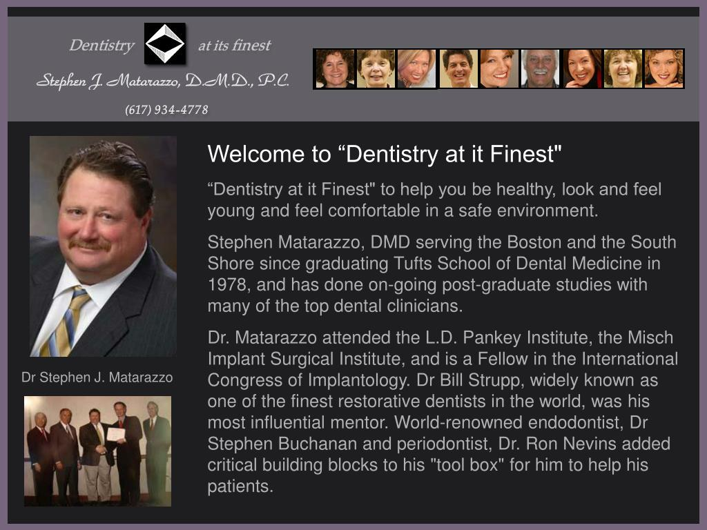 Dr Stephen J. Matarazzo