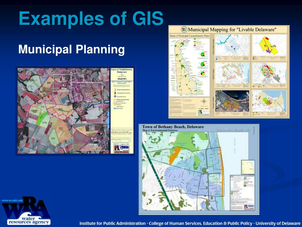Examples of GIS