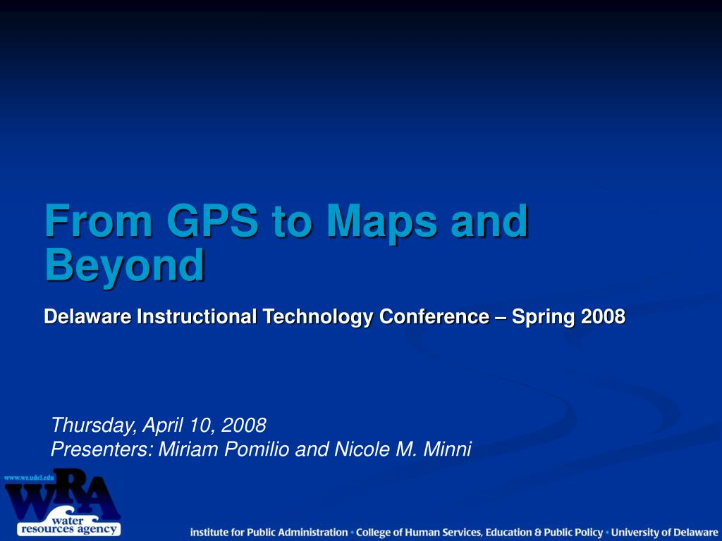 From GPS to Maps and Beyond