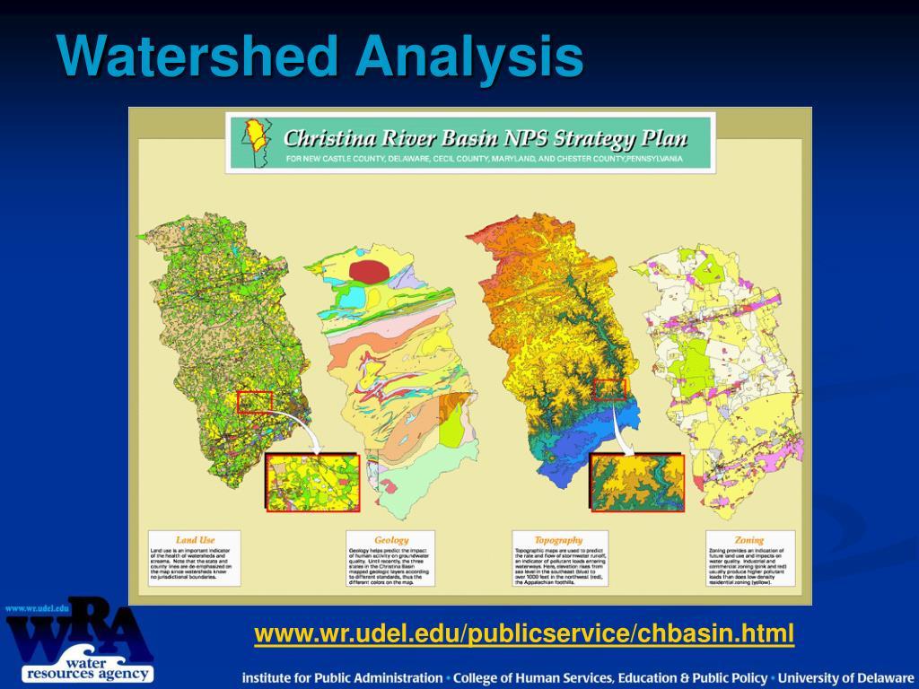 Watershed Analysis