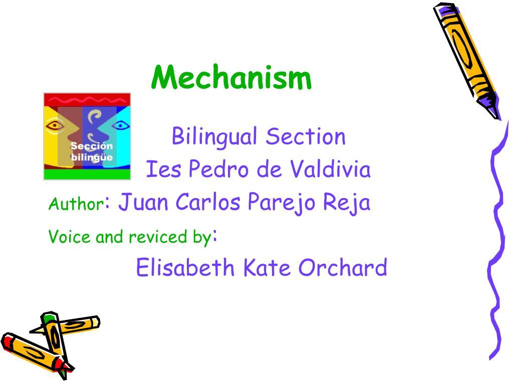 mechanism l.