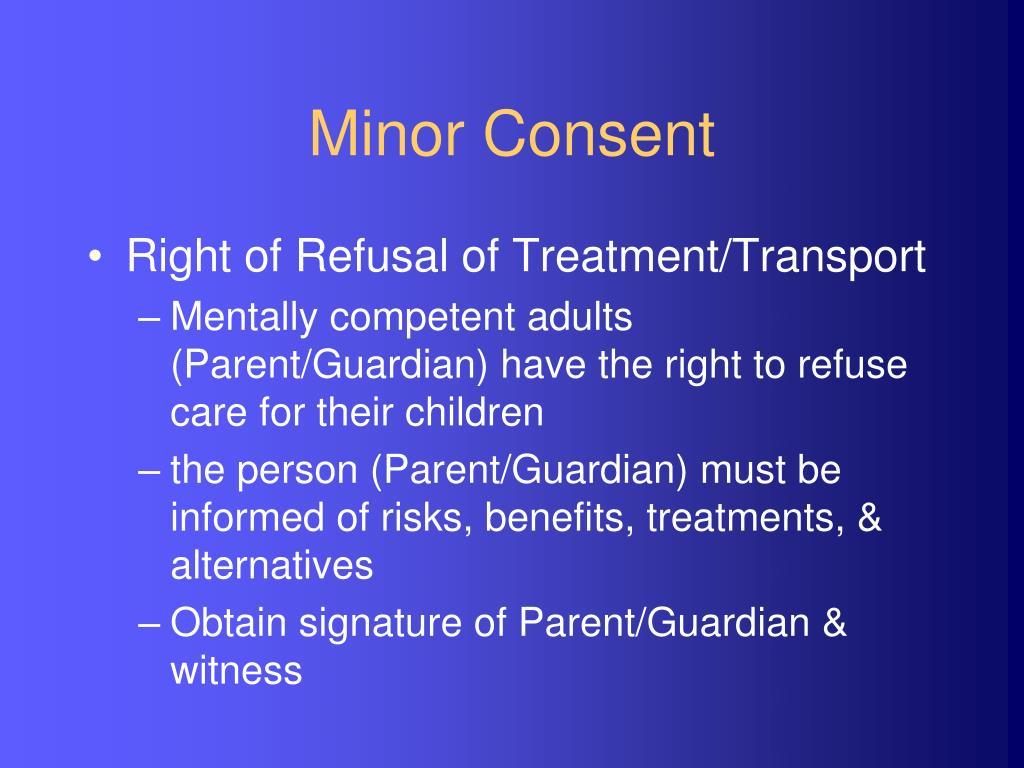 Minor Consent