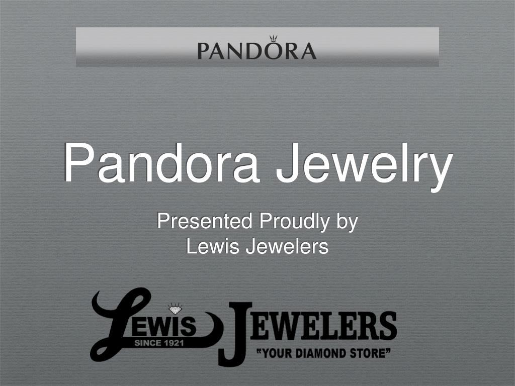 pandora jewelry l.