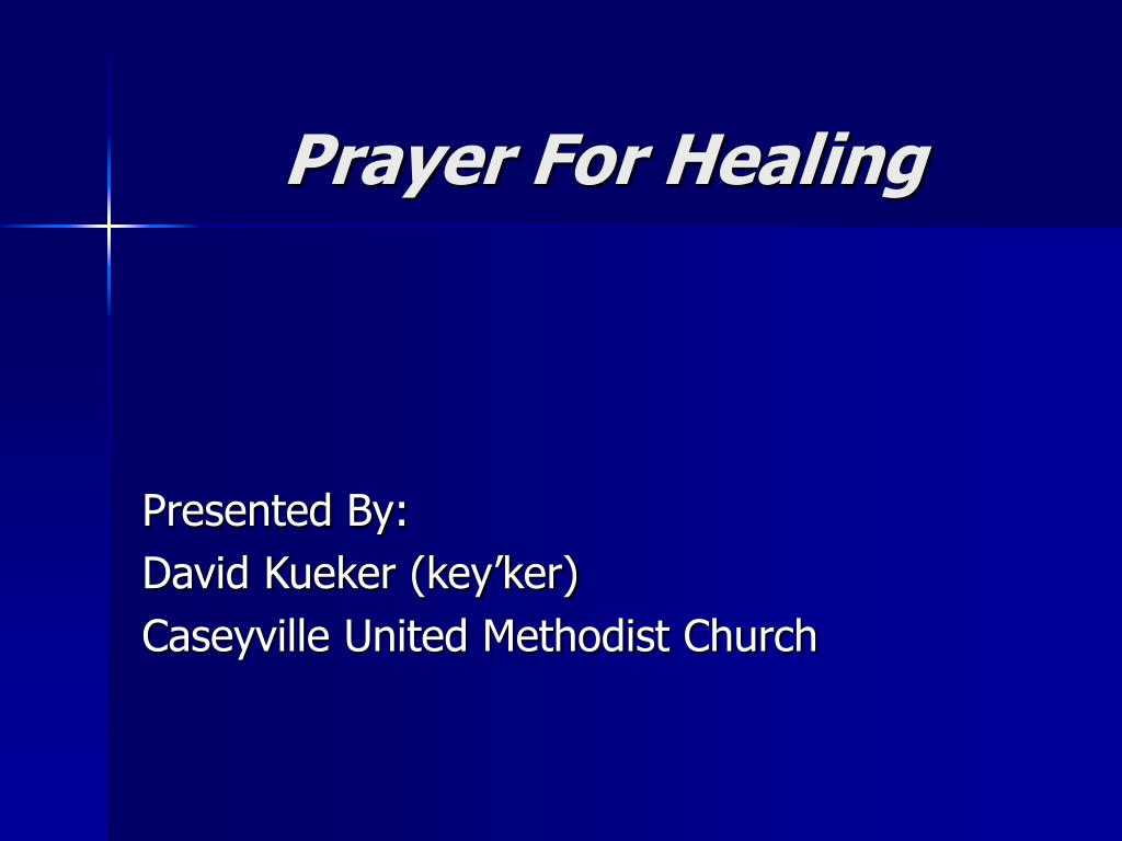 prayer for healing l.