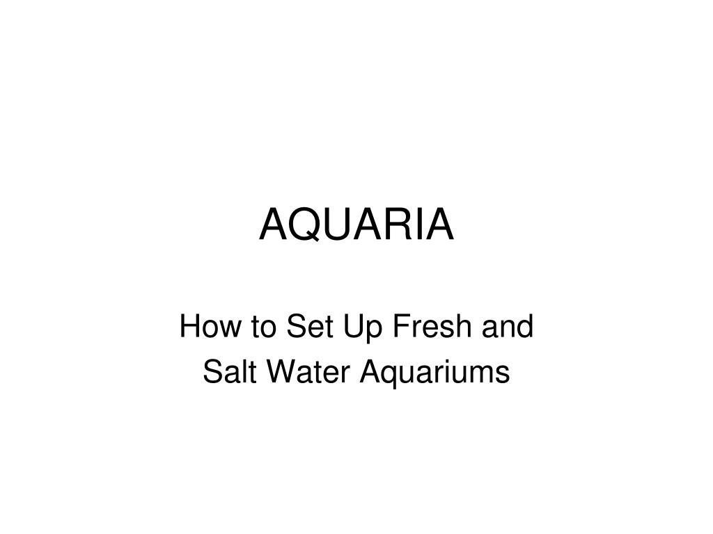aquaria l.