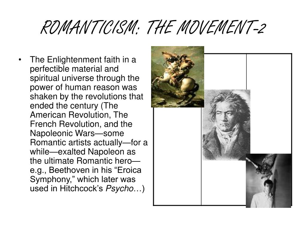 ROMANTICISM: THE MOVEMENT-2