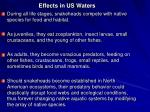 effects in us waters
