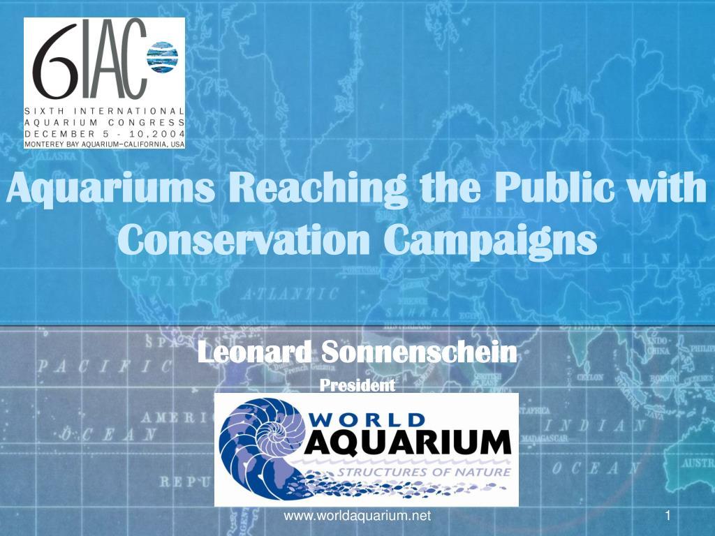 aquariums reaching the public with conservation campaigns l.