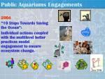 public aquariums engagements12