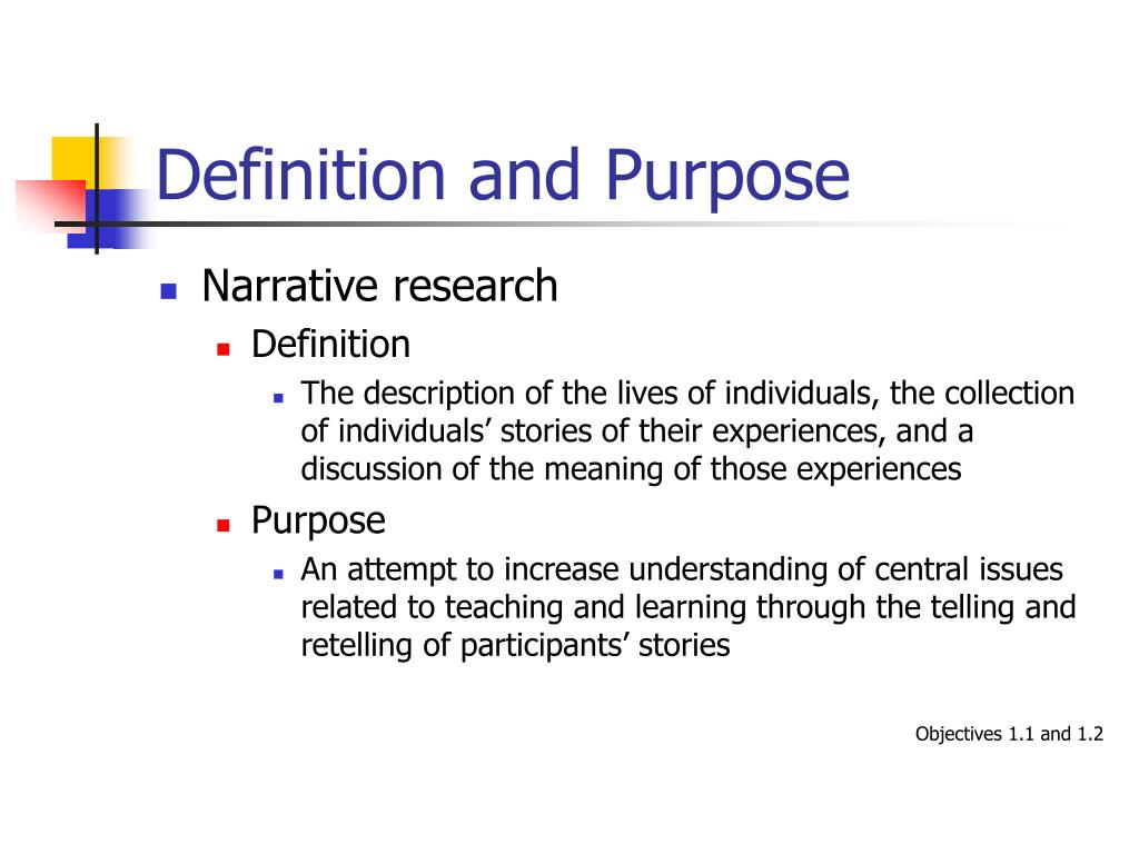 definition and purpose of a descriptive Writing modes: the four purposes of writing 8 2 description (descriptive writing): the purpose may be to inform.