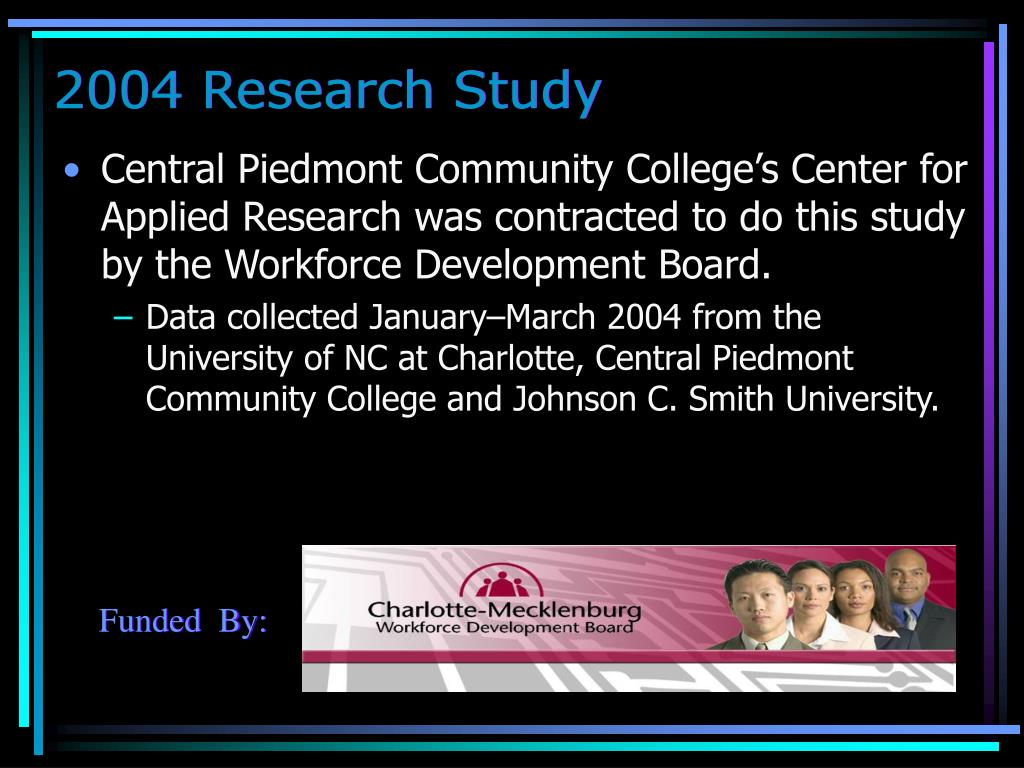 2004 Research Study