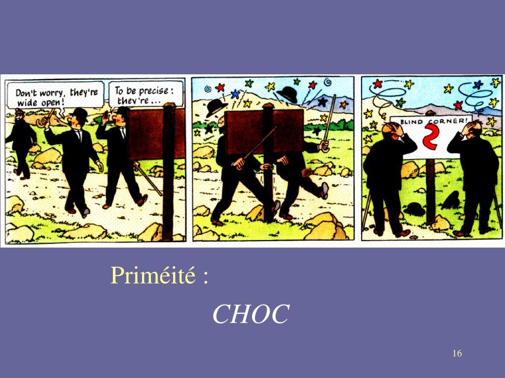 Priméité :