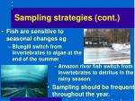 sampling strategies cont7