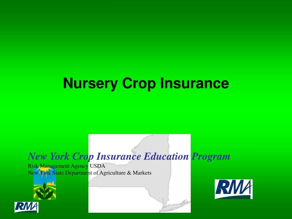 nursery crop insurance l.