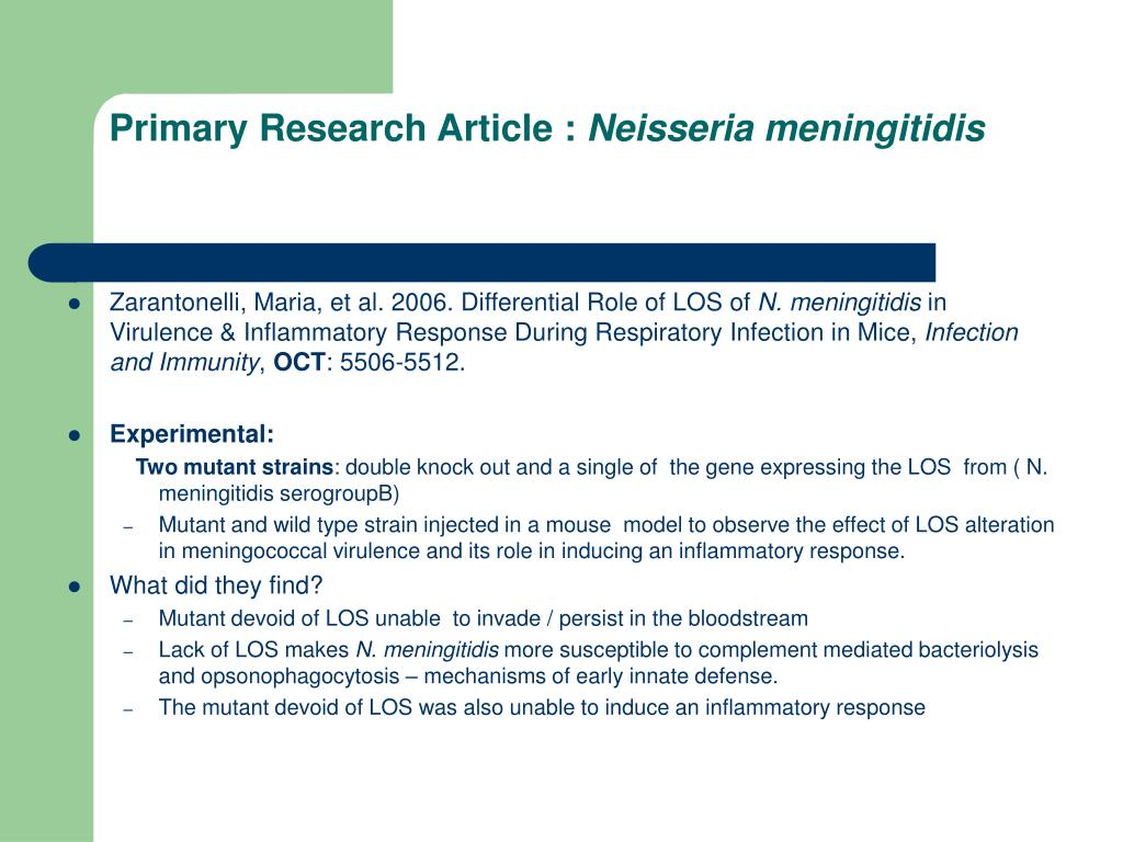 Primary Research Article :