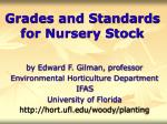grades and standards for nursery stock66