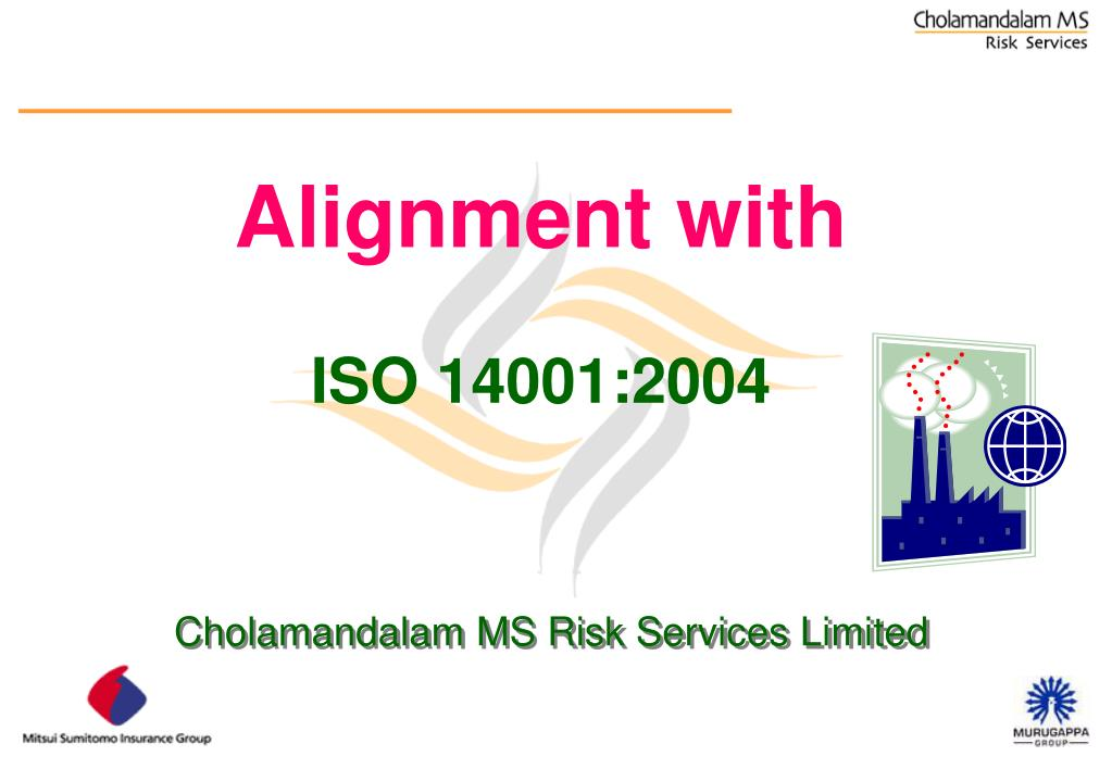alignment with iso 14001 2004 l.