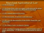 maryland agricultural law4