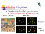 attention integration