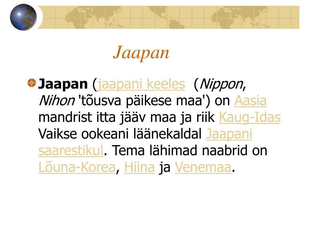 Jaapan