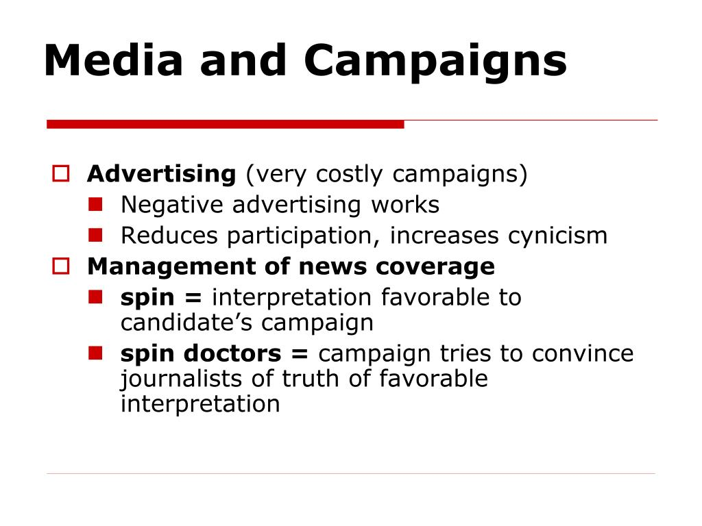 Media and Campaigns