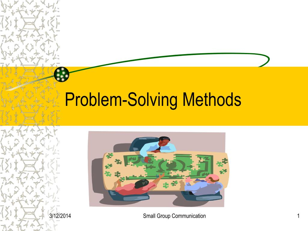 problem solving methods l.