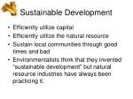 sustainable development65