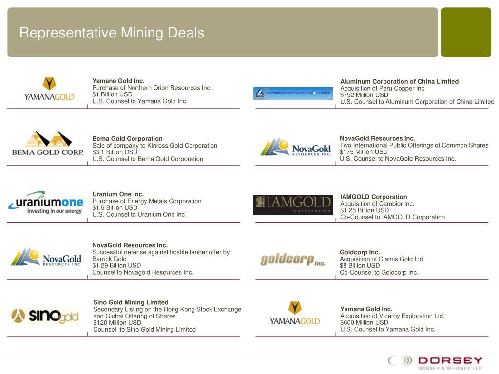 representative mining deals l.