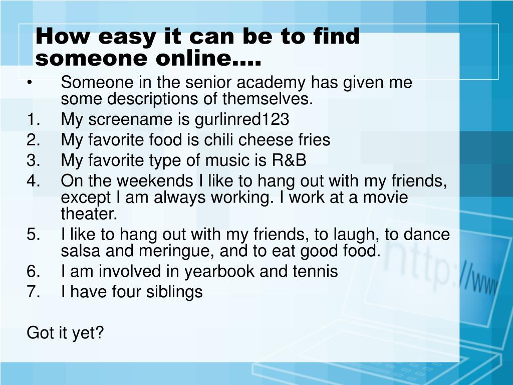 How To Find Someone On The Internet In Australia