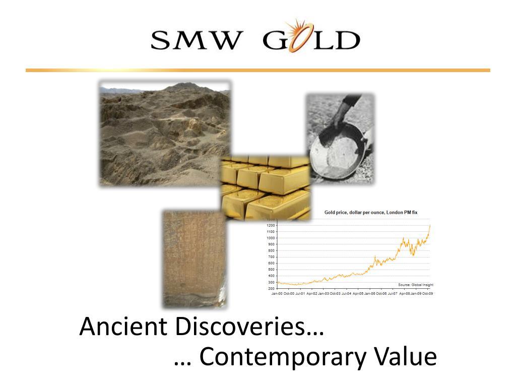 ancient discoveries l.