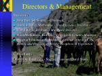 directors management