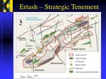 ertash strategic tenement