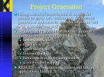 project generation