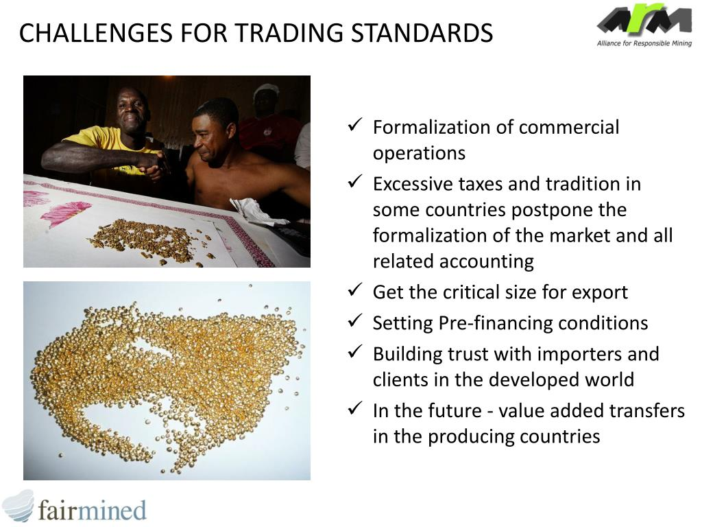 CHALLENGES FOR TRADING STANDARDS