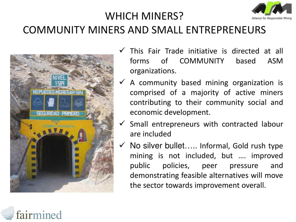 WHICH MINERS?