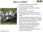 who is arm