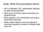 gold other environmental harms19