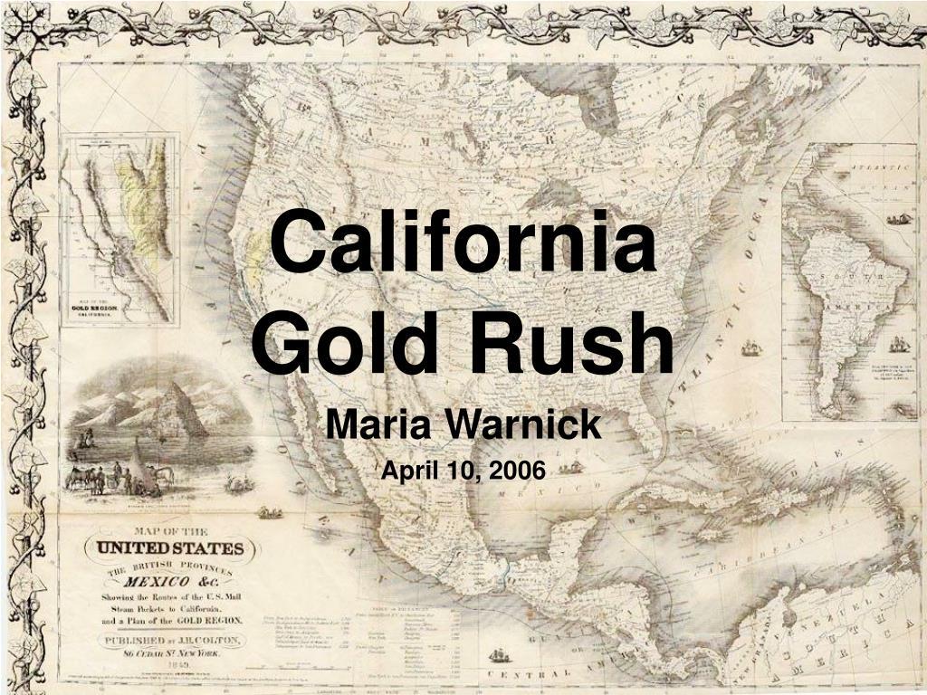 california gold rush l.
