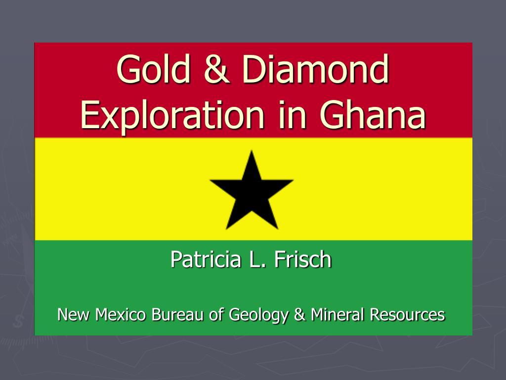 gold diamond exploration in ghana l.