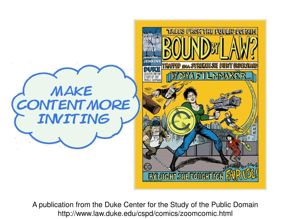 A publication from the Duke Center for the Study of the Public Domain