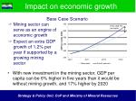 impact on economic growth