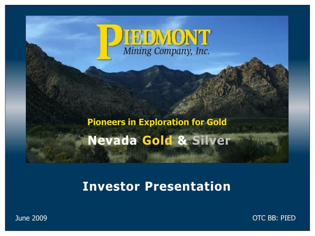 investor presentation l.