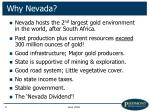 why nevada