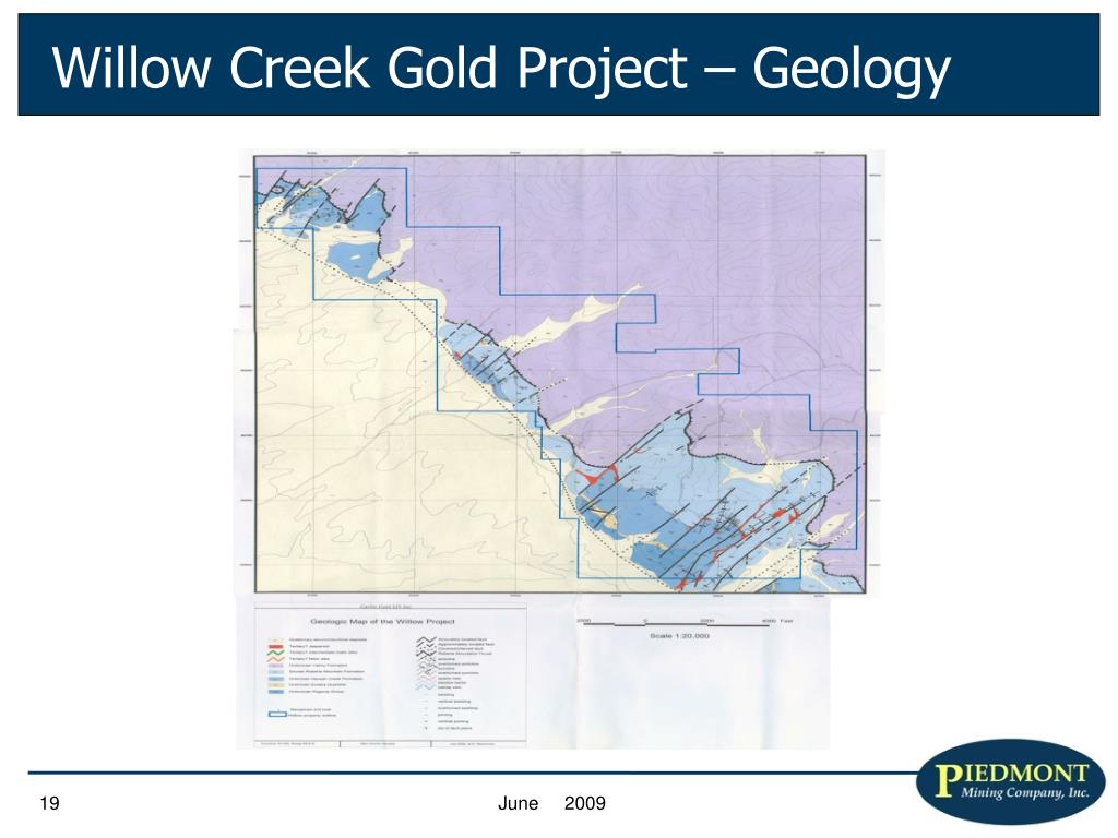Willow Creek Gold Project – Geology